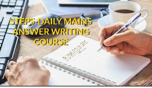 STEPS- Daily Mains Answer Writing Programme image