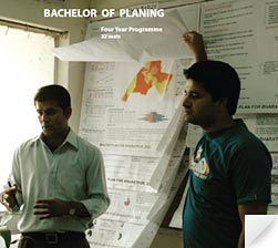 BACHELOR OF PLANNING image